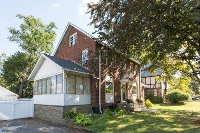 Elizabeth City Single Family Home For Sale: 12-16 Malden Ter