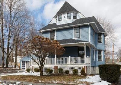 Glen Ridge Boro Twp. Single Family Home For Sale: 83 Winsor Pl