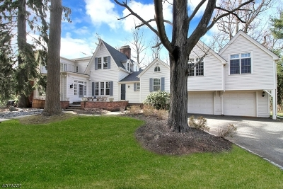 Millburn Twp. Single Family Home For Sale: 2 Tall Pine Ln