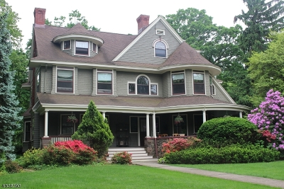 Montclair Twp. Single Family Home For Sale: 86 Porter Pl