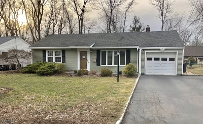 West Orange Twp. Single Family Home For Sale: 34 Morris Rd