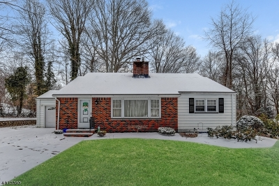 Parsippany-Troy Hills Twp. Single Family Home For Sale: 80 Red Gate Rd