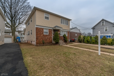 Roselle Boro Multi Family Home For Sale: 110 Amsterdam Ave
