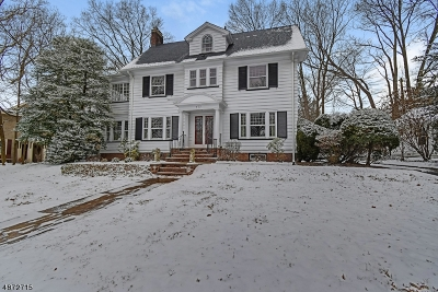 South Orange Village Twp. NJ Single Family Home For Sale: $995,000