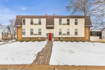 Montclair Twp. Condo/Townhouse For Sale: 15 Forest St #6