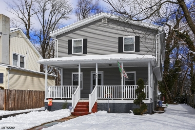 Scotch Plains Twp. Single Family Home For Sale: 449 Farley Ave