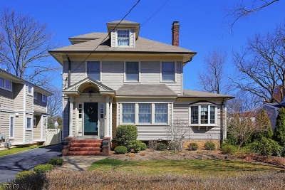Cranford Twp. Single Family Home For Sale: 36 Spruce St