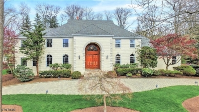WATCHUNG Single Family Home For Sale: 75 Chelsea