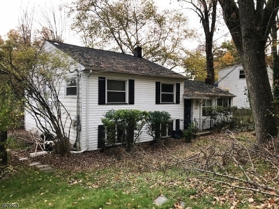 West Orange Twp. Single Family Home For Sale: 214 S Valley Rd