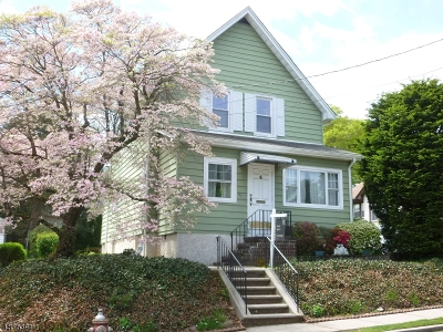 Nutley Twp. Single Family Home For Sale: 31 Laura Ave
