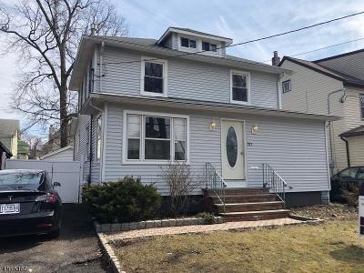 ROSELLE PARK Single Family Home For Sale: 823 Locust St