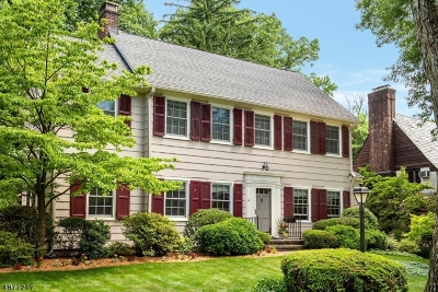 Montclair Twp. Single Family Home For Sale: 14 Chester Rd