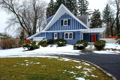 South Orange Village Twp. Single Family Home For Sale: 516 Finlay Pl