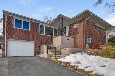 West Orange Twp. Single Family Home For Sale: 23 Mountain Way