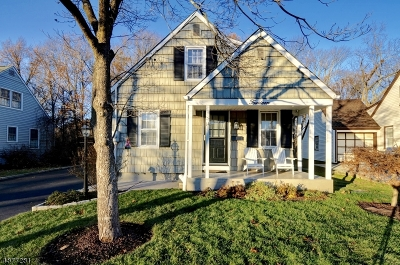 Cranford Twp. Single Family Home For Sale: 14 Mohawk Dr