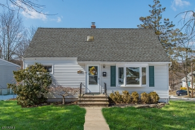 West Orange Twp. Single Family Home For Sale: 29 Phyllis Rd