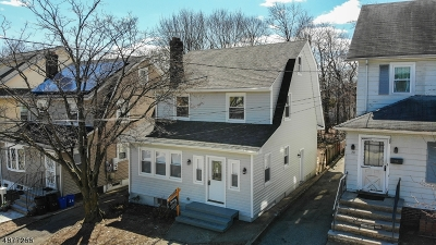 West Orange Twp. Single Family Home For Sale: 26 Erwin Pl
