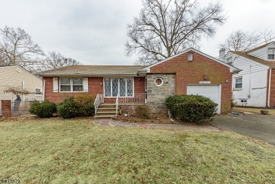 Rahway, Rahway City Single Family Home For Sale: 247 Russell Ave