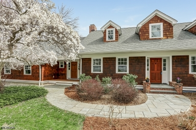Morris Twp. Single Family Home For Sale: 43 Spring Valley Rd