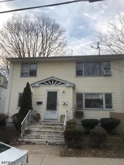 West Orange Twp. Multi Family Home For Sale: 35 Watson Ave