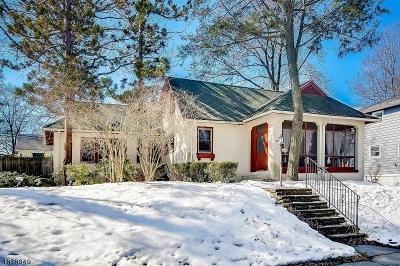 South Orange Village Twp. Single Family Home For Sale: 654 Varsity Rd
