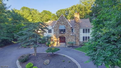 WATCHUNG Single Family Home For Sale: 94 Deer Run