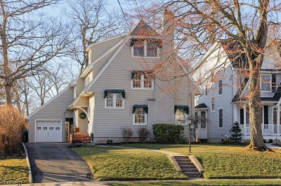 WESTFIELD Single Family Home For Sale: 525 Fairmont Ave