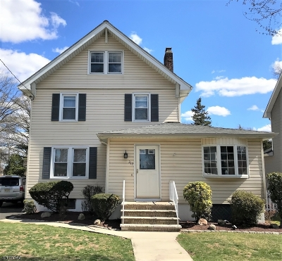 Cranford Twp. Single Family Home For Sale: 217 Retford Ave