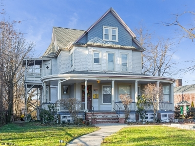 Montclair Twp. Multi Family Home For Sale: 136 Lincoln St