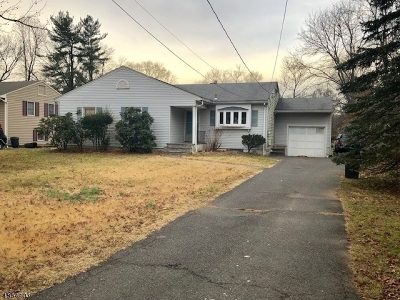 Scotch Plains Twp. Single Family Home For Sale: 1927 W Broad St
