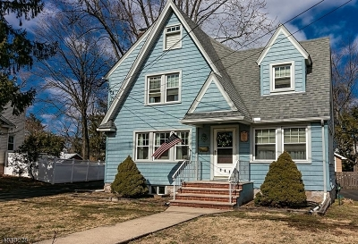 Cranford Twp. Single Family Home For Sale: 111 E Lincoln Ave