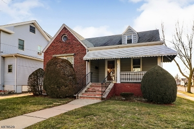 LINDEN Single Family Home For Sale: 617 W Curtis St