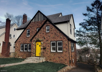 West Orange Twp. Single Family Home For Sale: 21 Glen Rd