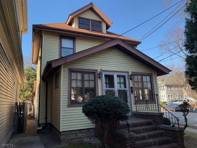 Rahway, Rahway City Single Family Home For Sale: 200 W Hazelwood Ave