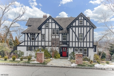 Montclair Twp. Single Family Home For Sale: 63 Highland Ave