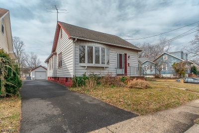 Rahway, Rahway City Single Family Home For Sale: 920 Ross St
