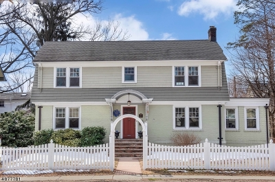 Montclair Twp. Single Family Home For Sale: 87 Watchung Ave
