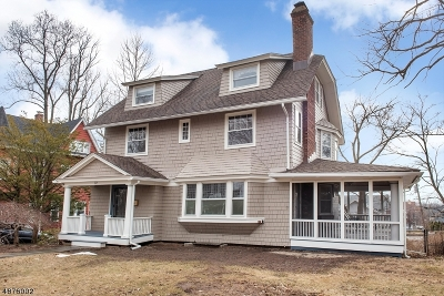 Montclair Twp. Single Family Home For Sale: 72 Gates Ave