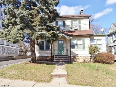 West Orange Twp. Single Family Home For Sale: 17 Lawrence Ave