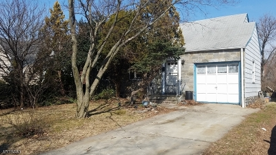 Roselle Park Boro Single Family Home Active Under Contract: 113 Bender Ave