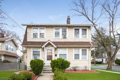 South Orange Village Twp. Single Family Home For Sale: 483 Irvington Ave