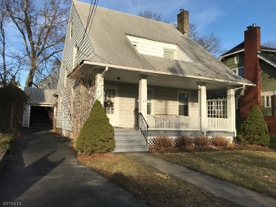 Morristown Town Single Family Home For Sale: 115 Early St
