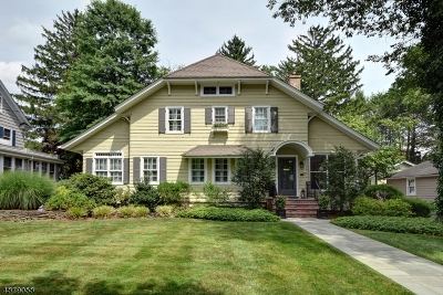 WESTFIELD Single Family Home For Sale: 712 Standish Ave
