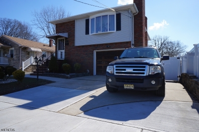 Linden City Single Family Home For Sale: 912 Bergen Ave