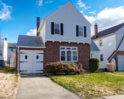 Hillside Twp. Single Family Home For Sale: 1451 Highland Ave