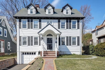 Millburn Twp. Single Family Home For Sale: 155 Myrtle Ave