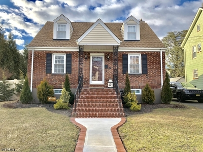 Garwood Boro Single Family Home For Sale: 337 Pine Ave