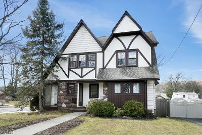 West Orange Twp. Single Family Home For Sale: 39 Sheridan Ave