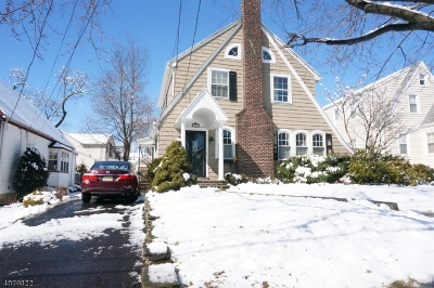 Millburn Twp. Single Family Home For Sale: 61 Undercliff Rd