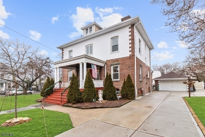 Perth Amboy City Single Family Home Active Under Contract: 121 Rector St